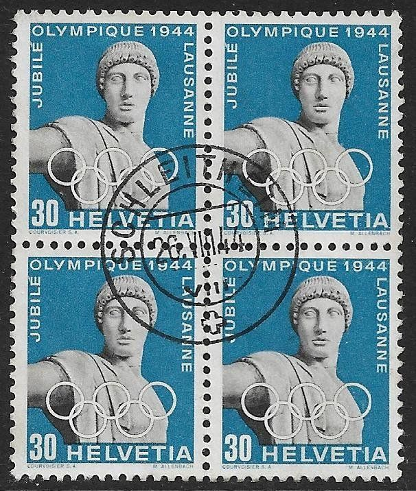 1944 Nr. 261x o Olymp. Apollo top ab 1.-