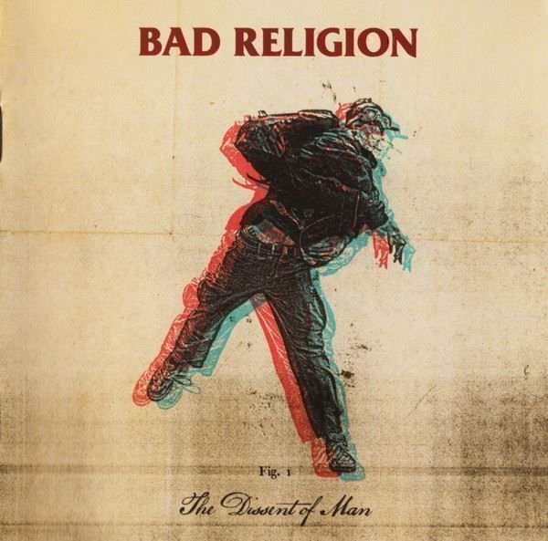 Bad Religion CD Dissent of man (US Vers) 1