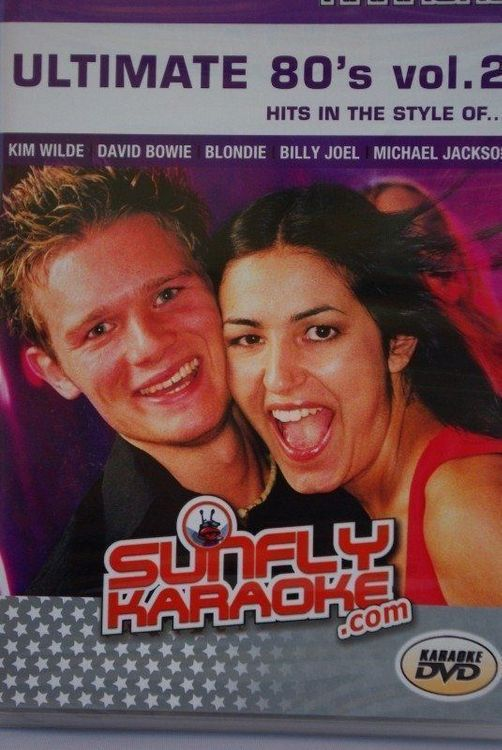 Sunfly Karaoke-DVD Ultimate 80's