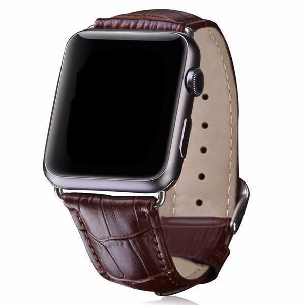 Bracelet cuirPU pour Apple Watch 3 4 5