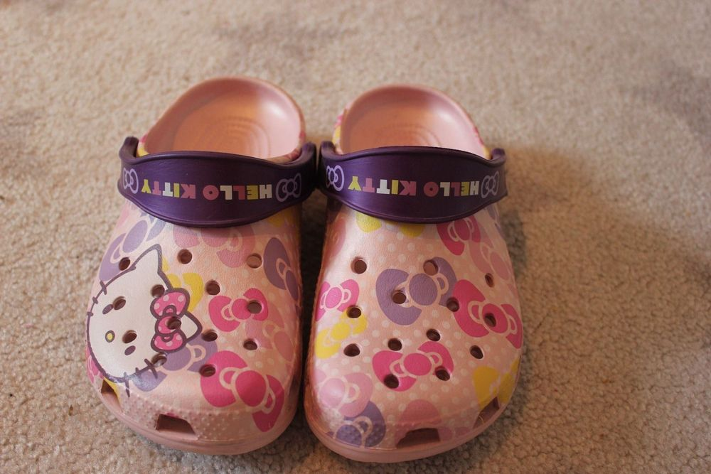 Crocs Hello Kitty Gr.34-35 Neu