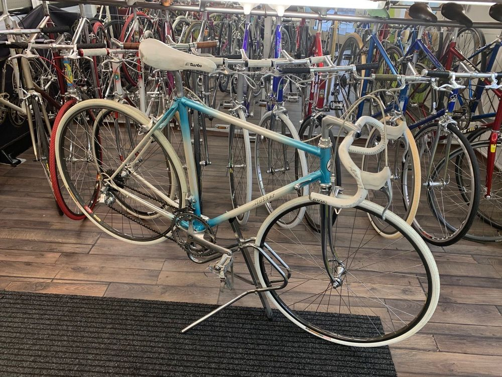Notter Rennvelo mit Campagnolo Gruppe