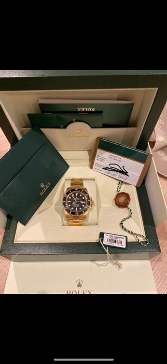 Rolex submariner 116618 LN (Full gold)