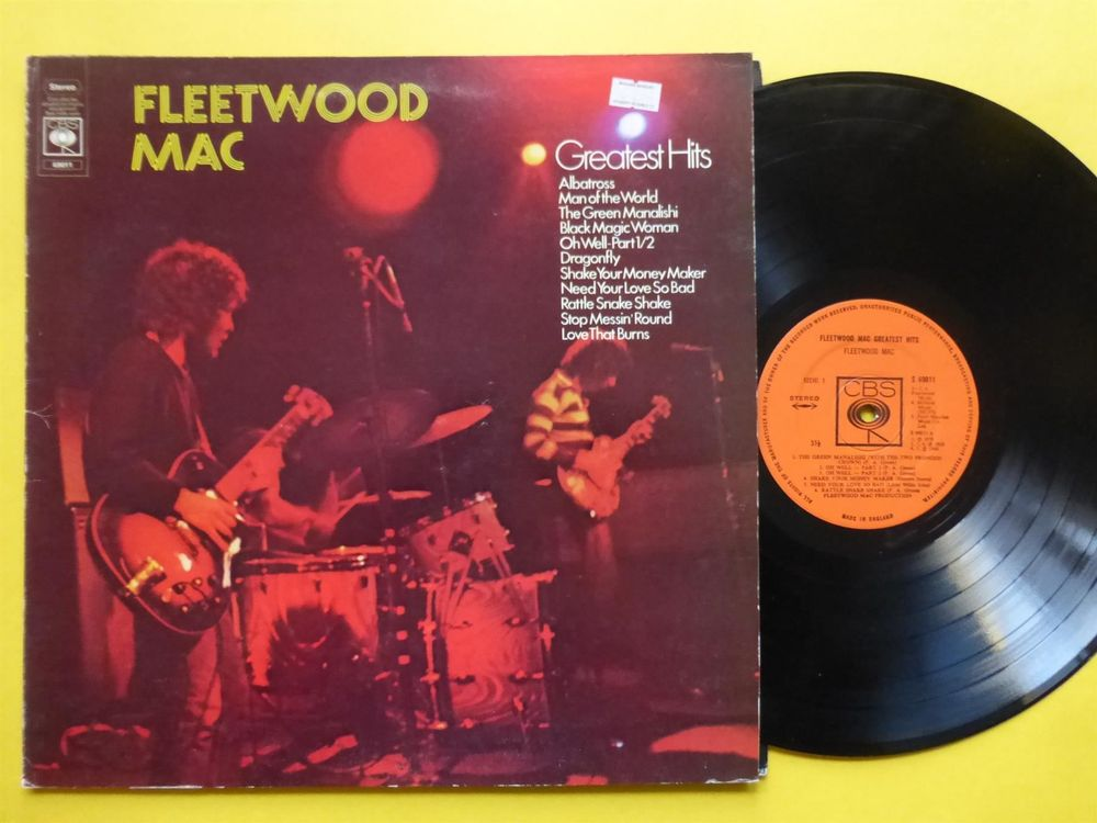 FLEETWOOD MAC *LP* GREATEST HITS