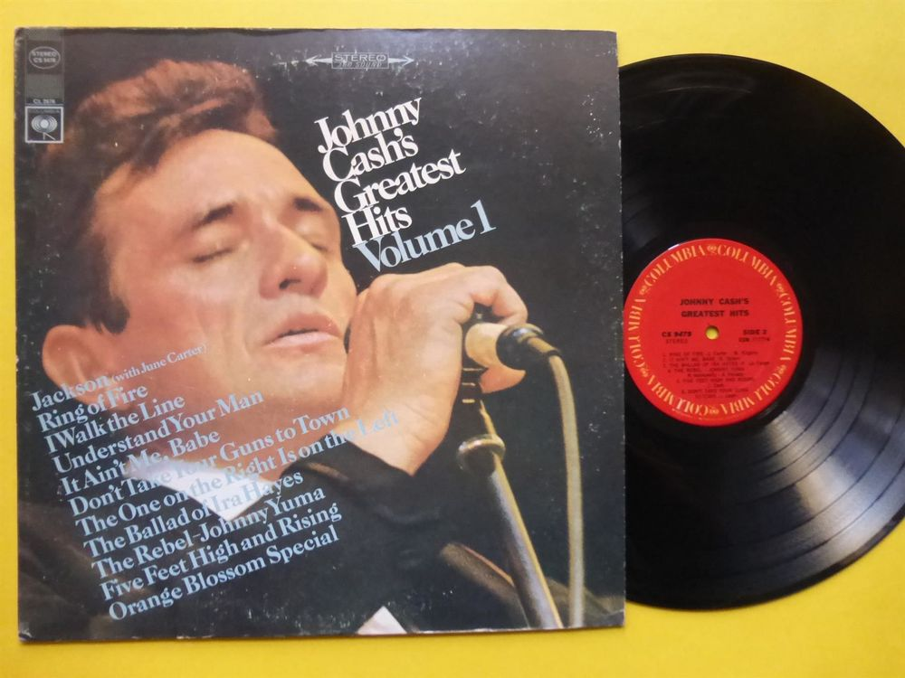 JOHNNY CASH *LP* GREATEST HITS