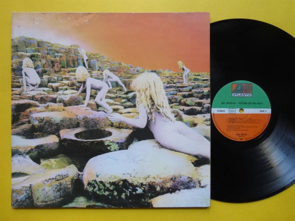 LED ZEPPELIN *LP* HOUSES OF THE HOLY
