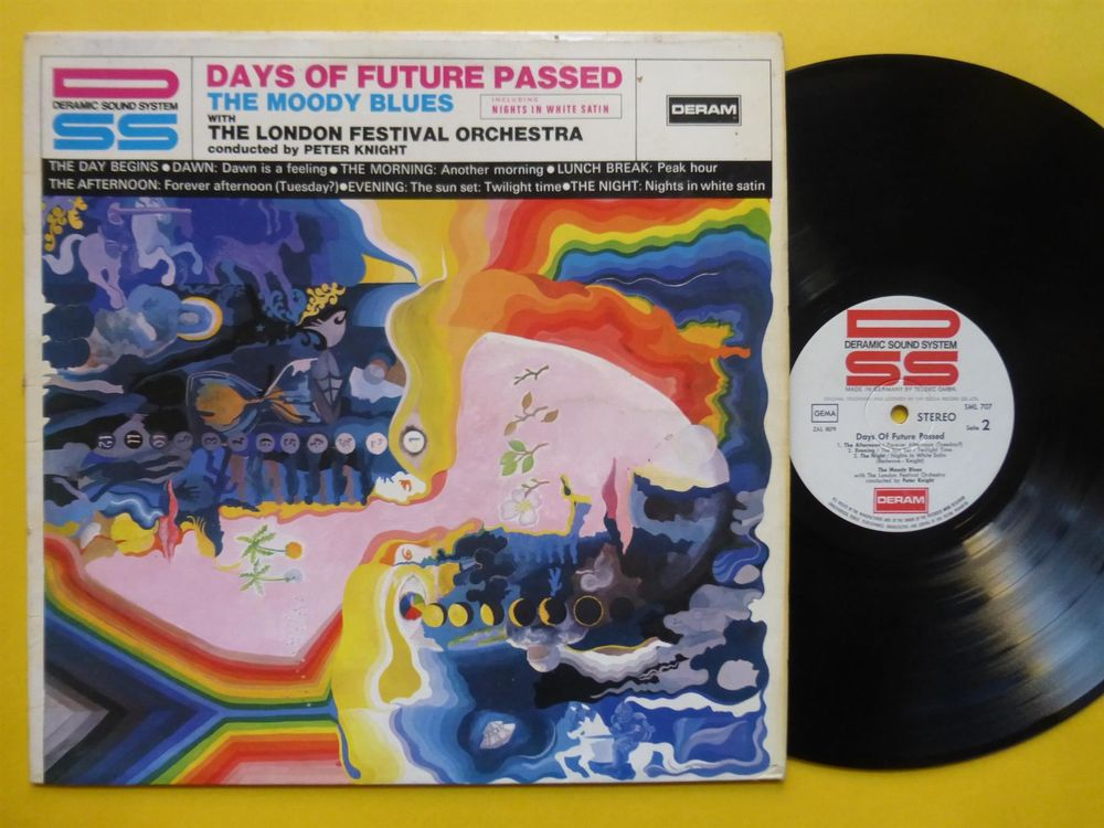 MOODY BLUES *LP* DAYS OF FUTURE PASSED