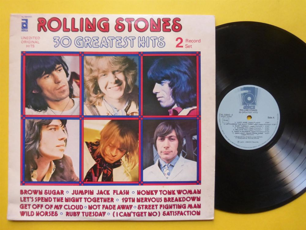 ROLLING STONES *DLP* 30 GREATEST HITS