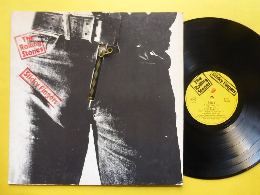 ROLLING STONES *LP* STICKY FINGERS