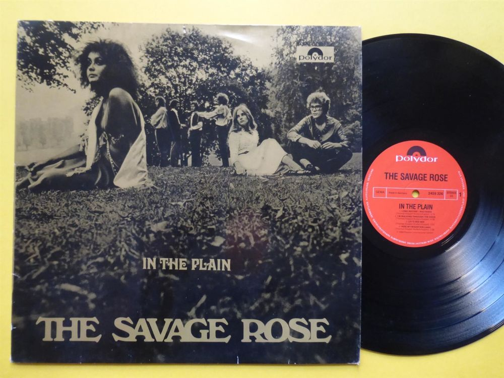 SAVAGE ROSE *LP* IN THE PLAIN