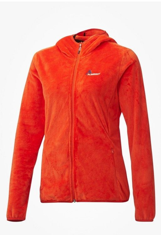 DAMEN FLECCEJACKE ALBRIGHT ORANGE  GR.40