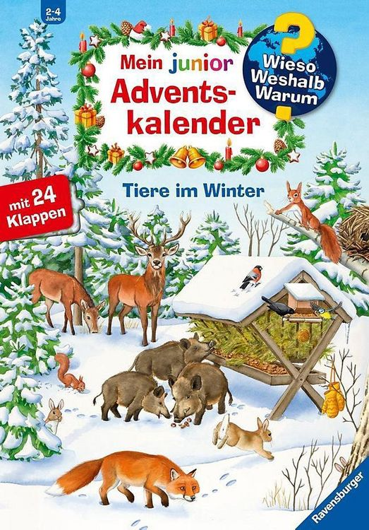 Ravensburger Adventskal WWW Junior Tiere