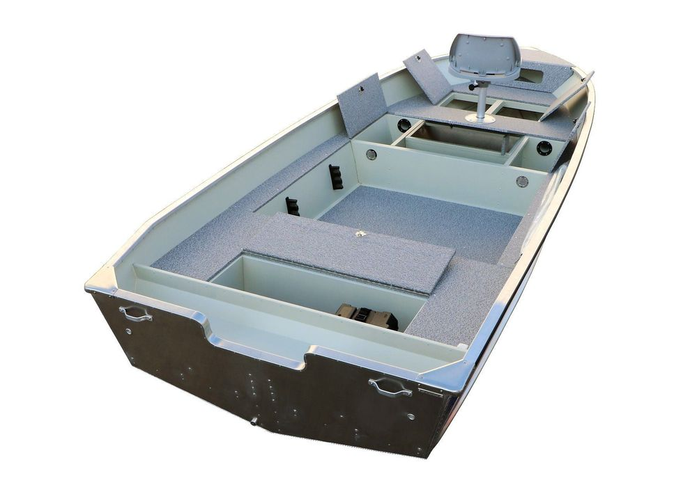 500 Fish DLX Aluboot Fischerboot Boot