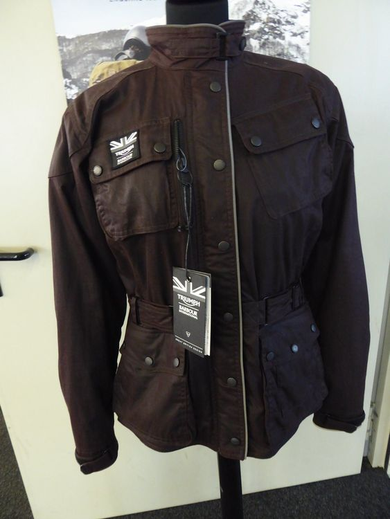 Triumph Damen Barbour Jacke XL