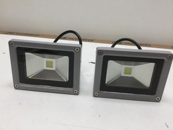 2x LED Strahler IP65