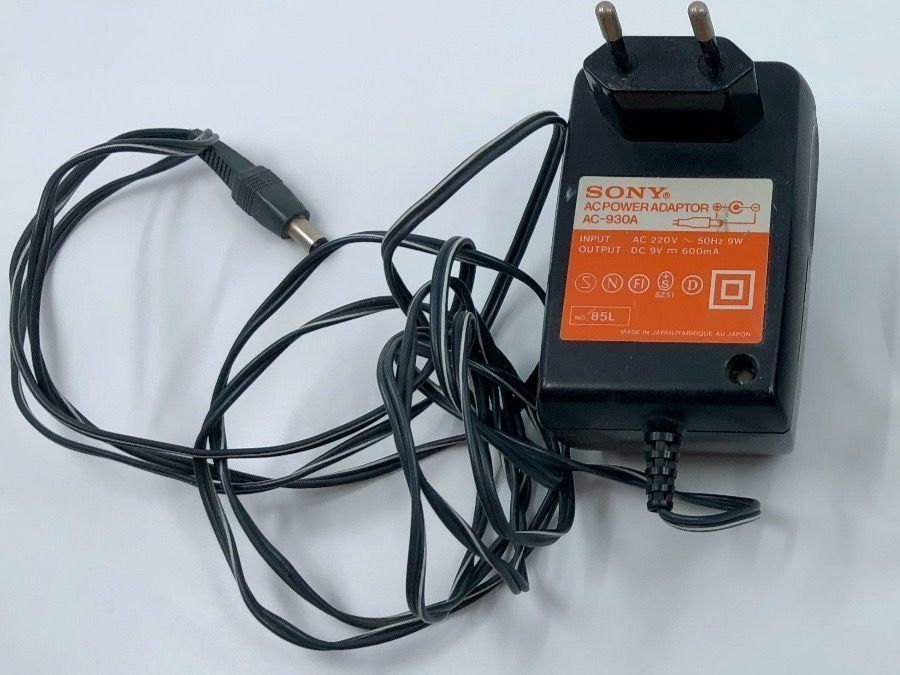 Sony Discman AC Power Adaptor AC-930A