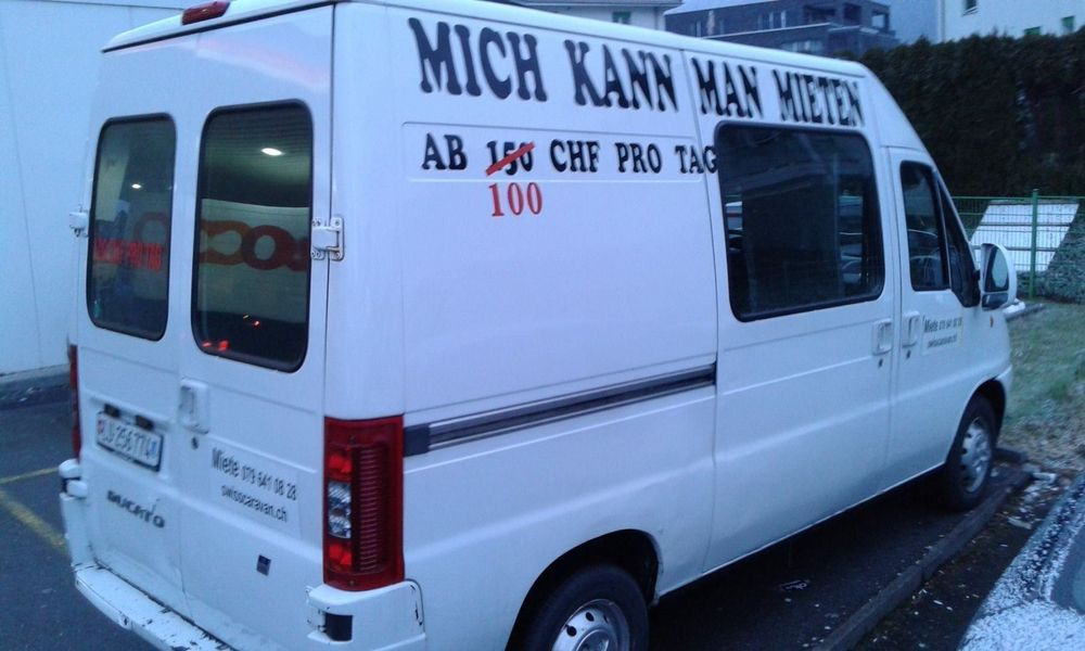 Fiat Ducato,Jumper,Boxer , only for Rent