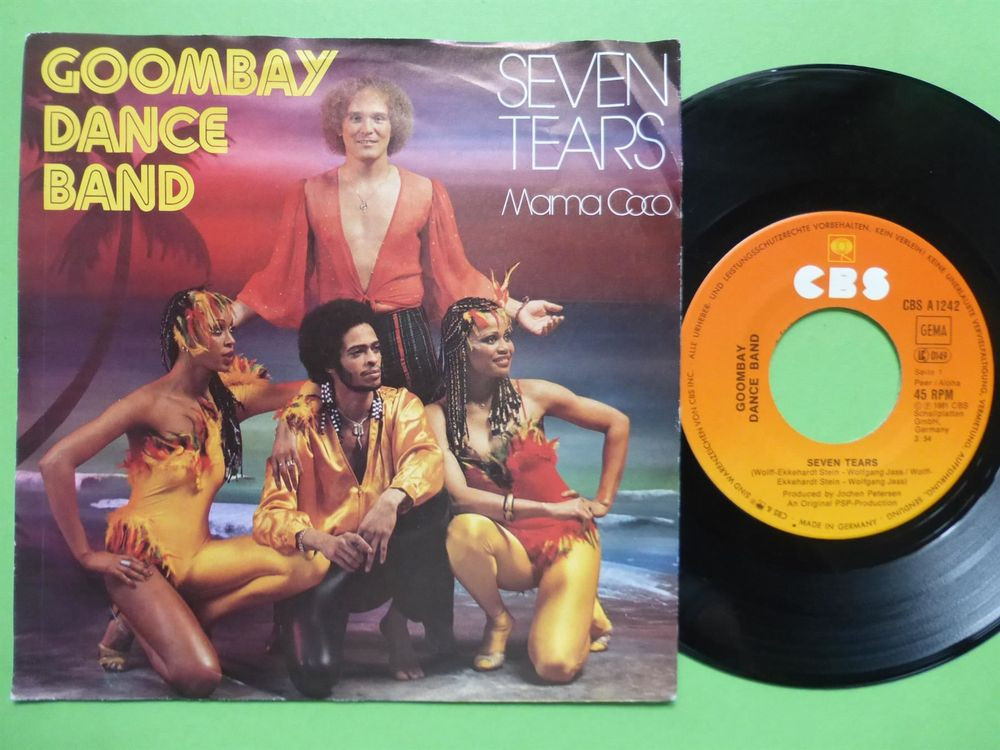 """GOMBAY DANCE BAND 7"""" SEVEN TEARS"""