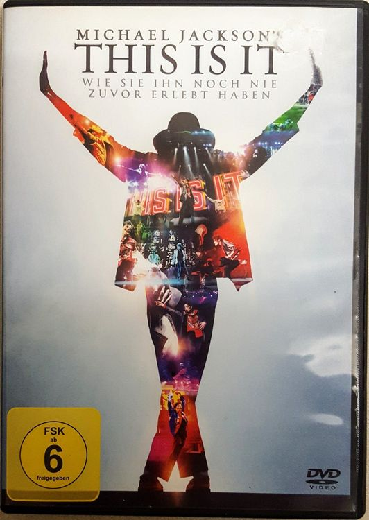 DVD: THIS IS IT, Michael Jackson