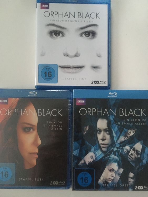 BLURAY SERIE Orphan Black