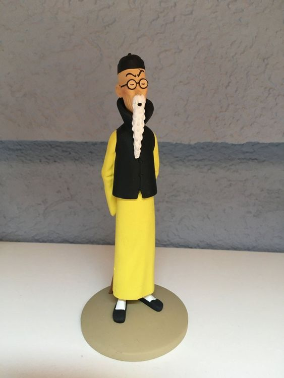 Tintin figurine collection Wang Jen Ghie