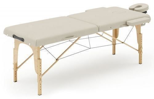 Table de massage 2 zones beige