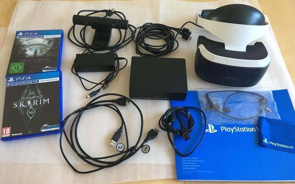 PS 4 VR + 2 Games