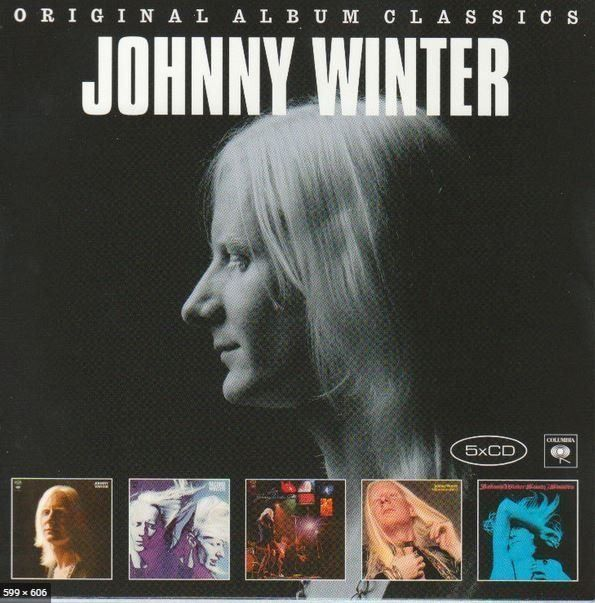 Johnny Winter - 5 Classic Albums