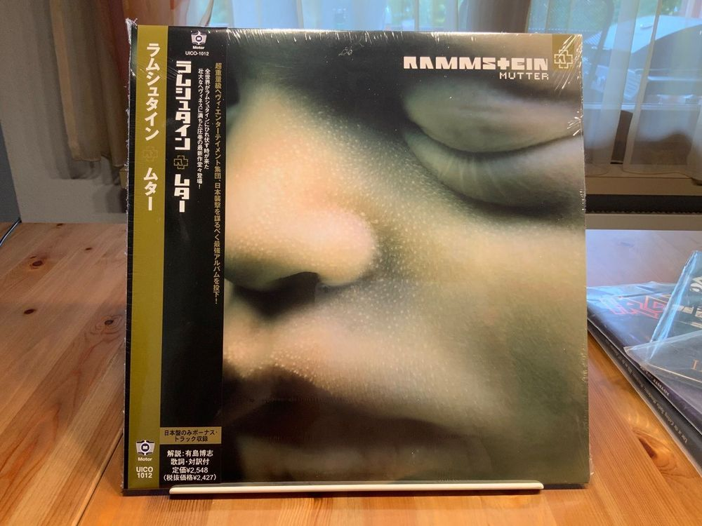 RARE RAMMSTEIN COLOR ALBUM
