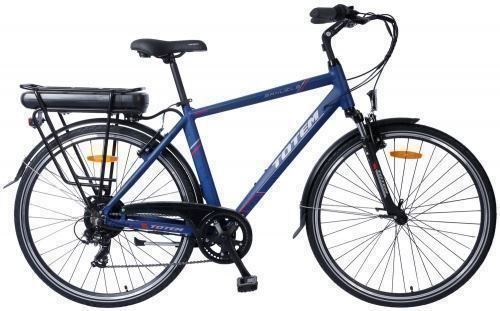 E-Bike City 52 cm PRIVILEGE bleu