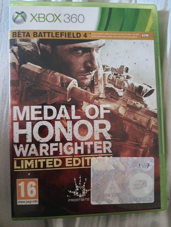 Medal of Honor Warfighter XBOX 360 1