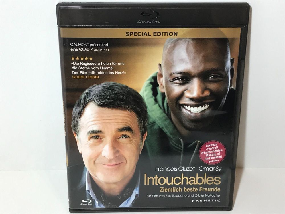 Intouchables Blu Ray 1
