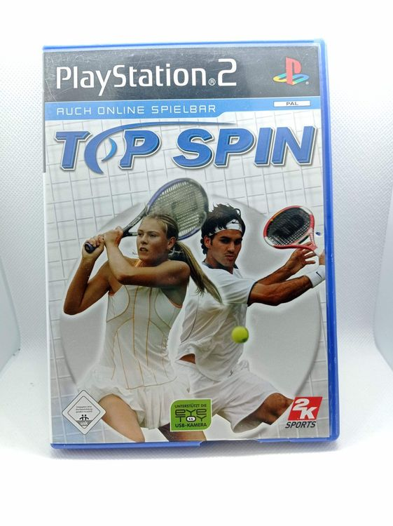 PS2 - Top Spin 1