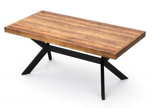 Table à manger bois de mangue brut 180cm
