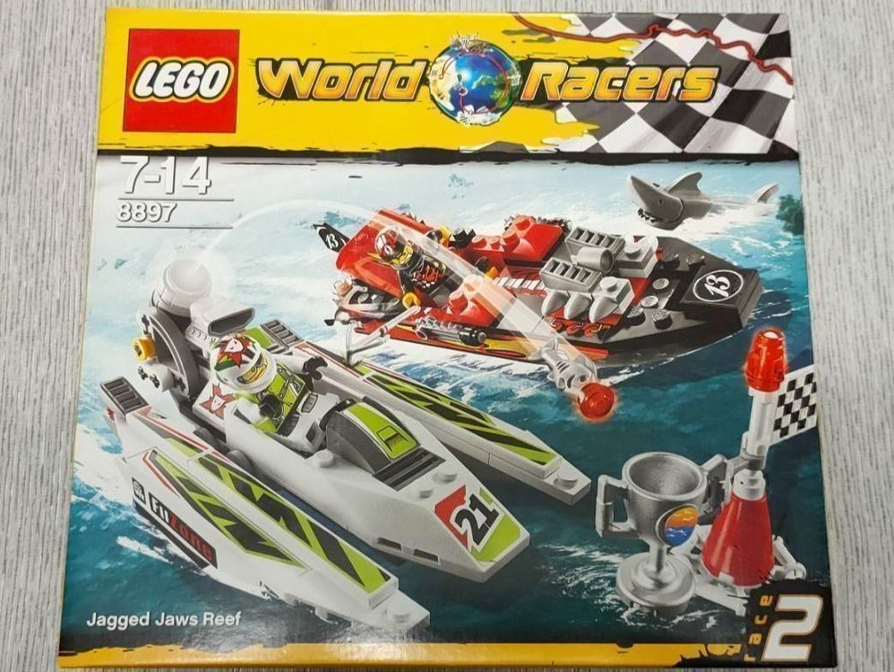 LEGO® World Racers 8897 Jagged Jaws Reef 1