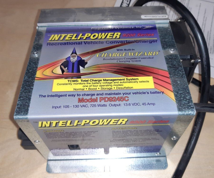 PD9245C – 45 Amp RV Converter/Charger 1