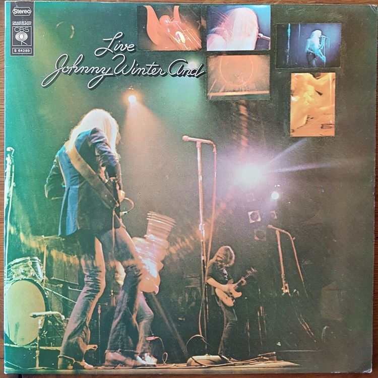Johnny Winter And - Live 1