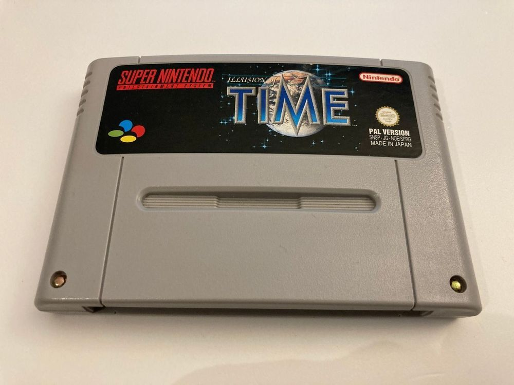 SNES Spiel - Illusion of Time 1