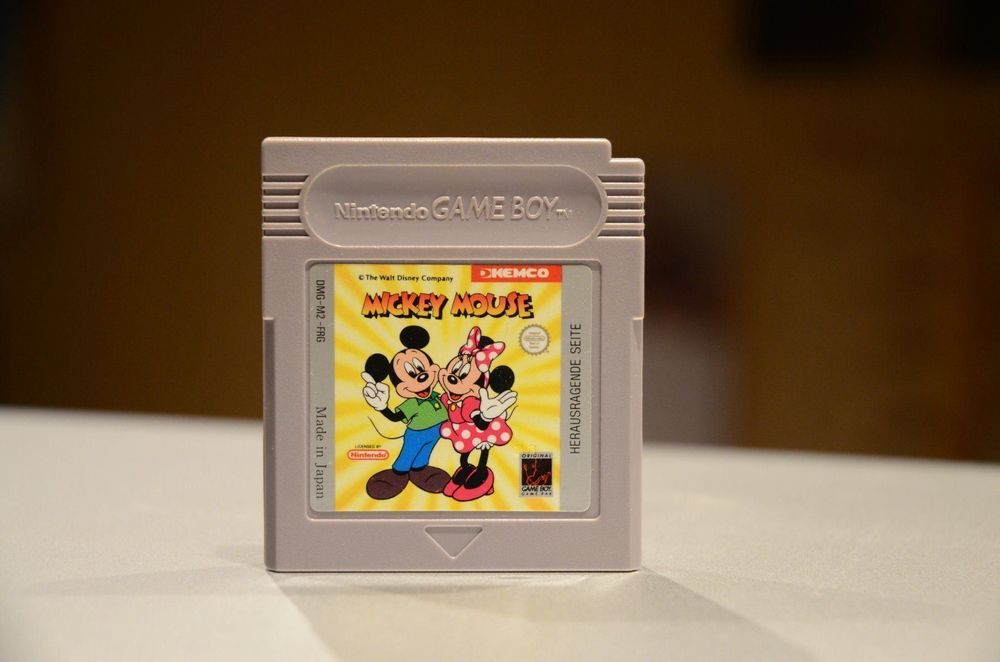 Gameboy Classic Spiel Mickey Mouse 1