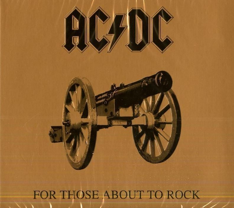 AC/DC For Those About To Rock CD Portofr 1