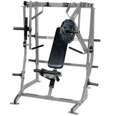 HAMMER STRENGTH PLATE-LOADED CHEST PRESS