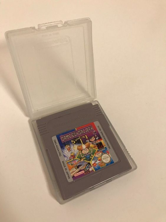 Game Boy Gallery 5 Games in 1 1