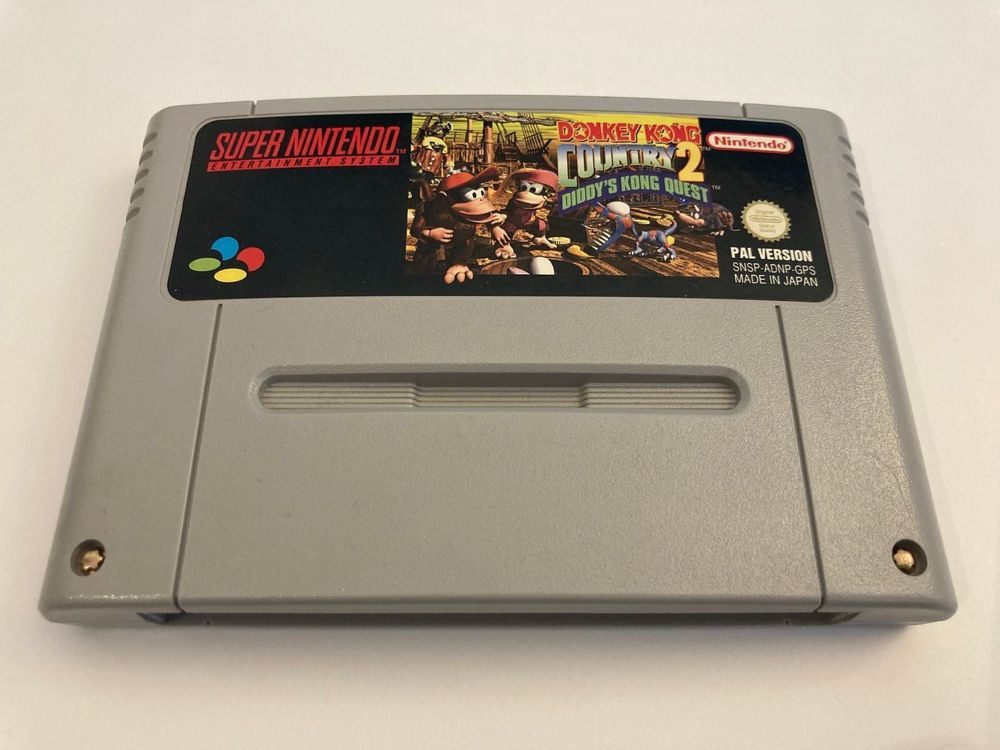 SNES Spiel - Donkey Kong Country 2 1