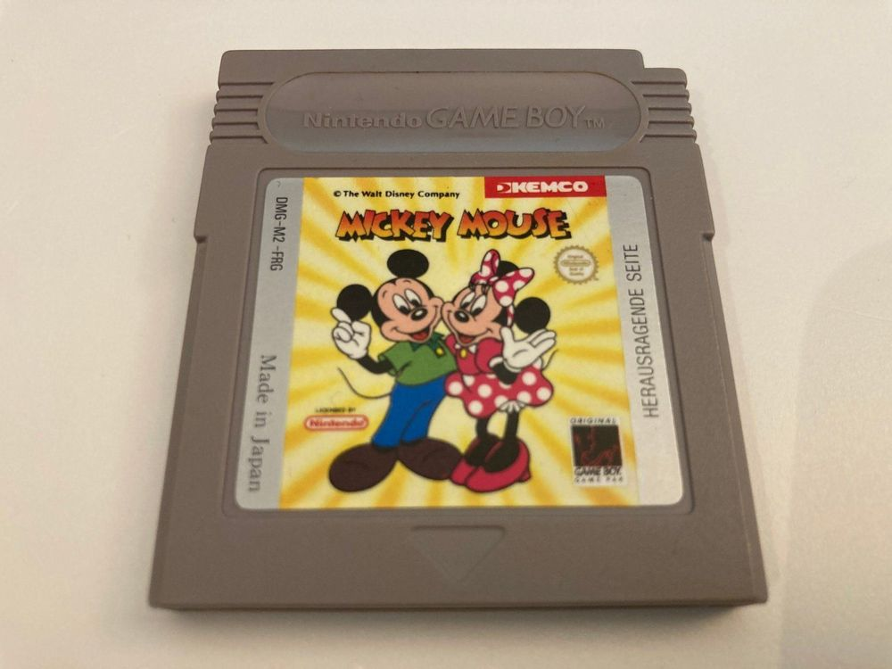 GB Spiel - Mickey Mouse 1