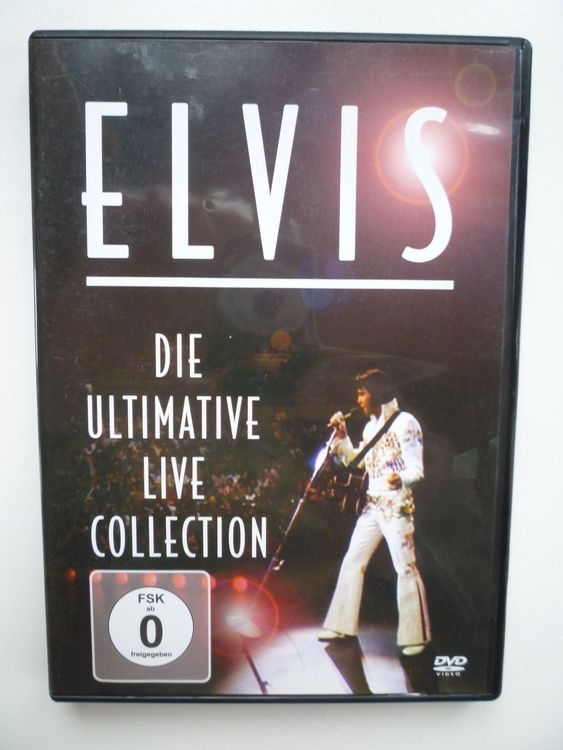 Elvis die Ultimative live Collection 1