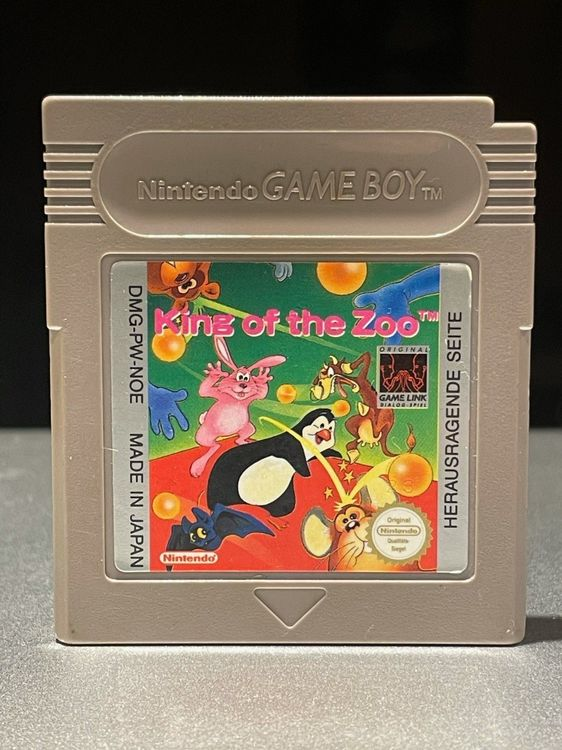 Gameboy Classic Spiel King of the Zoo 1