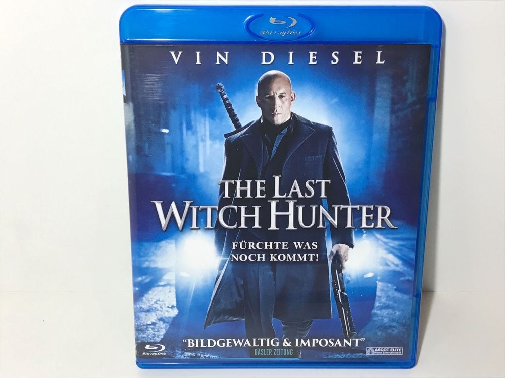 The Last Witch Hunter Blu Ray 1