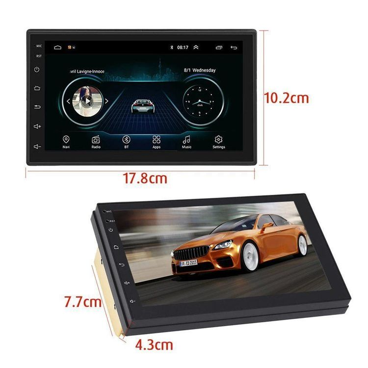 Android 8.0 Car Stereo Player mit GPS 1
