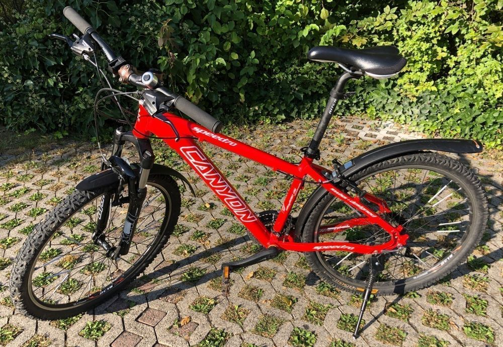 Canyon Speed 70, rot 1