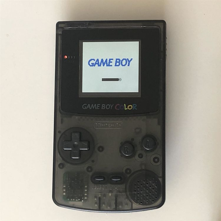 Gameboy Color mit LCD Backlight ags 101 1